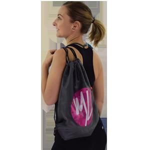 sac de sport camouflage girly