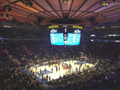 NBA New York Madison square garden