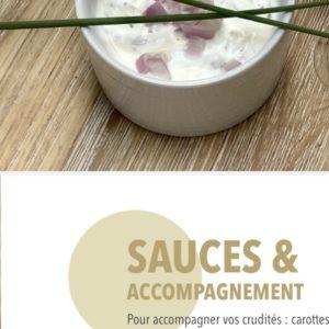 apéritif sain gourmand sauces