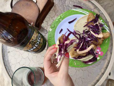 plage tacos tulum