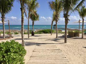 beach club plage vidanta riviera Maya hotel cancun