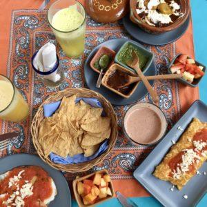 Valladolid brunch Mexique