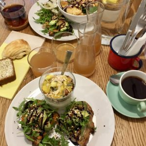 Les cafetiers lyon brunch
