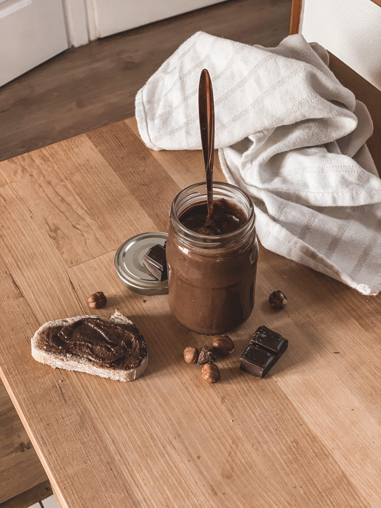 Nutella recette healthy
